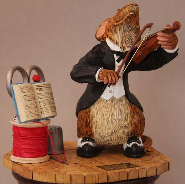 Folk art caricature carving with dennis taylor