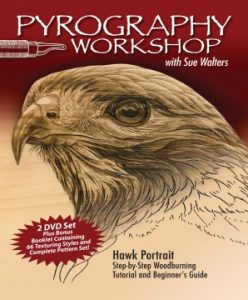 Pyrography Workshop with Sue Walters DVD (excerpt)