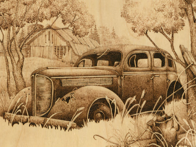 Wood Car Art : Patterns archives pyrography online