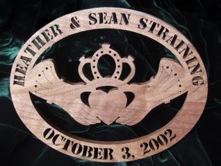 Celtic Anniversary Claddagh