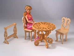 Making Fretwork Doll Furniture
