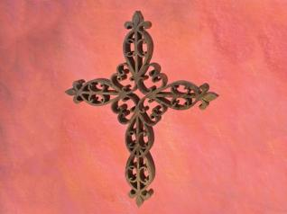 Ornate Fretwork Cross