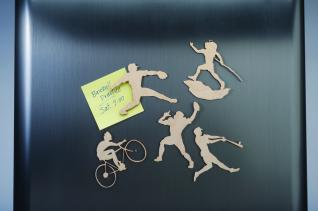Sports Figures Magnet Patterns