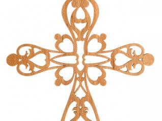 Victorian Fretwork Cross