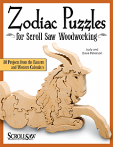 Autographed Copy of Zodiac Puzzles for Scroll Saw Woodworking Contest