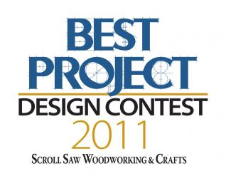 Scroll Saw Woodworking & Crafts 2011 Best Project Design Contest: General Scroll Saw Category