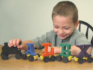 Alphabet Train Pull Toy