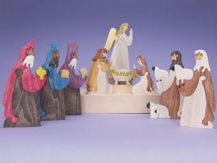 Nativity Scene Puzzle Set