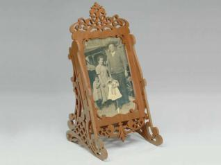 Freestanding Fretwork Photo Frame