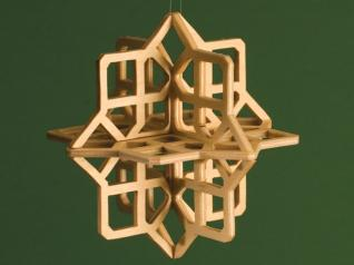 3-D Snowflake Ornaments
