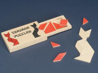 Pocket-size Tangram Puzzle