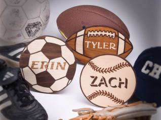 Personalized Sports Plaques