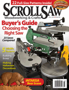 Scroll Saw Woodworking & Crafts issue #40 eNews
