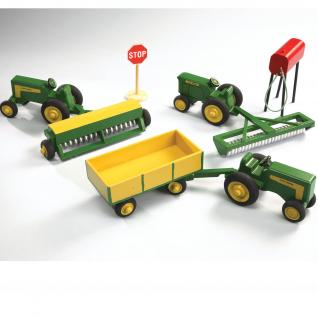 Creating Farm Toys Color Painting Reference
