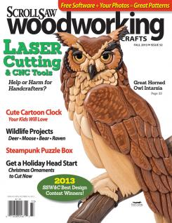 Scroll Saw Woodworking & Crafts, Issue 52