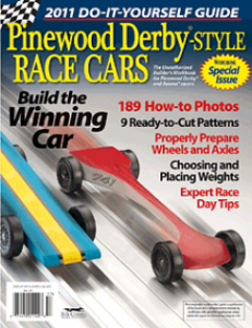 Pinewood Derby Special Issue from WCI
