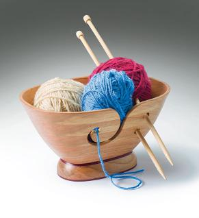 Scrolled Yarn Bowl