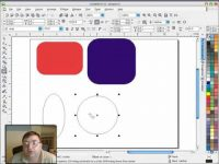 Corel Draw's Rectangle, Ellipse, and Polygon tools