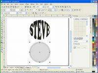Corel Draw's Interactive Envelope Tool