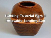 Sanding Scroll Saw Bowls Part 4
