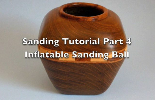 Sanding Scroll Saw Bowls Part 4