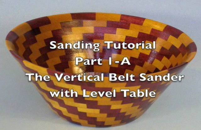 Sanding Scroll Saw Bowls Part 1-A