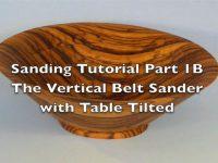 Sanding Scroll Saw Bowls Part 1-B
