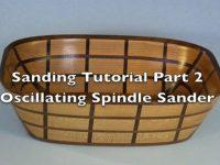 Sanding Scroll Saw Bowls Part 2