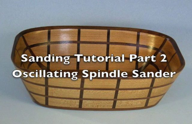 Sanding Scroll Saw Bowls Part 2