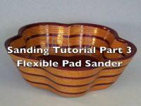 Sanding Scroll Saw Bowls Part 3