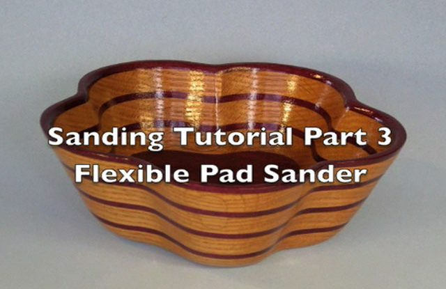 Sanding Scroll Saw Bowls Part 3