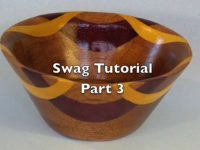 Making a swag bowl on a scroll saw Part 3