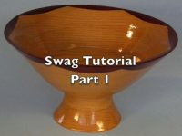 Making a swag bowl on a scroll saw Part 1
