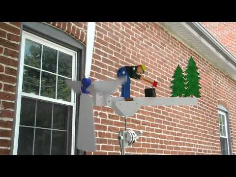 Wood-Splitting Whirligig – the video