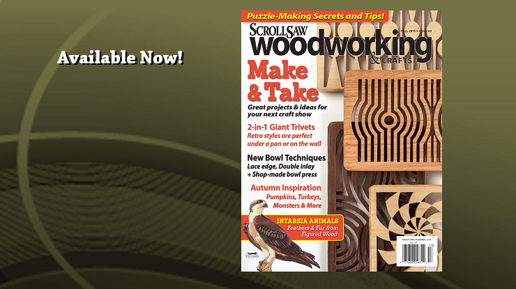 Scroll Saw Woodworking & Crafts Fall 2015 Issue 60