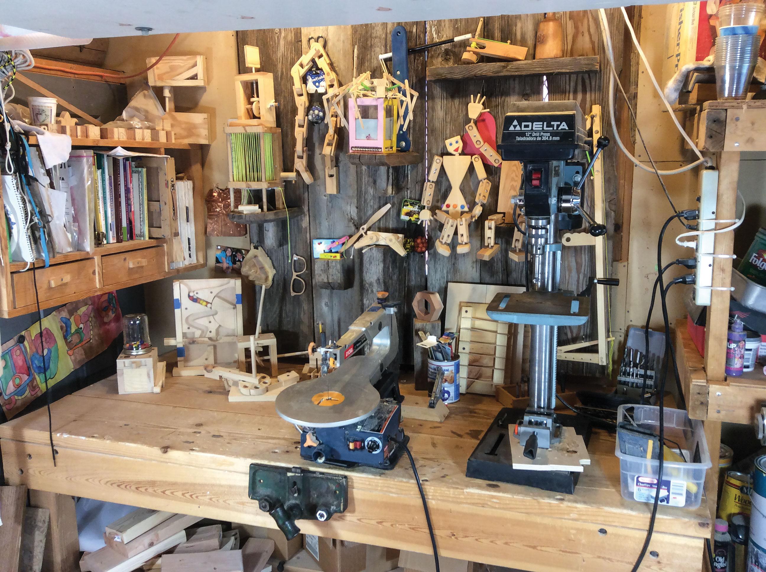 Gizsip Gilsdorf 5 Scroll Saw Woodworking Crafts