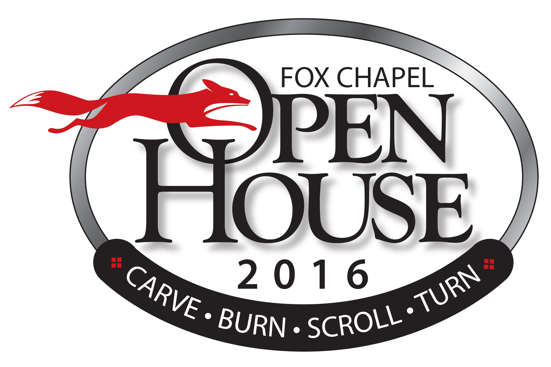 The 2016 Fox Chapel Publishing Open House and Woodworking Show will be here before you know it!