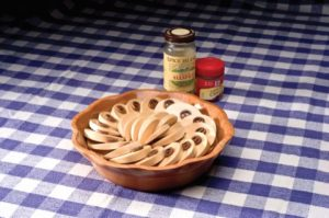 Apple Tart Box was featured in Carole's book Creative Wooden Boxes from the Scroll Saw. It even has a slight cinnamon scent.