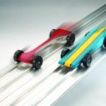 Race Cars Lead
