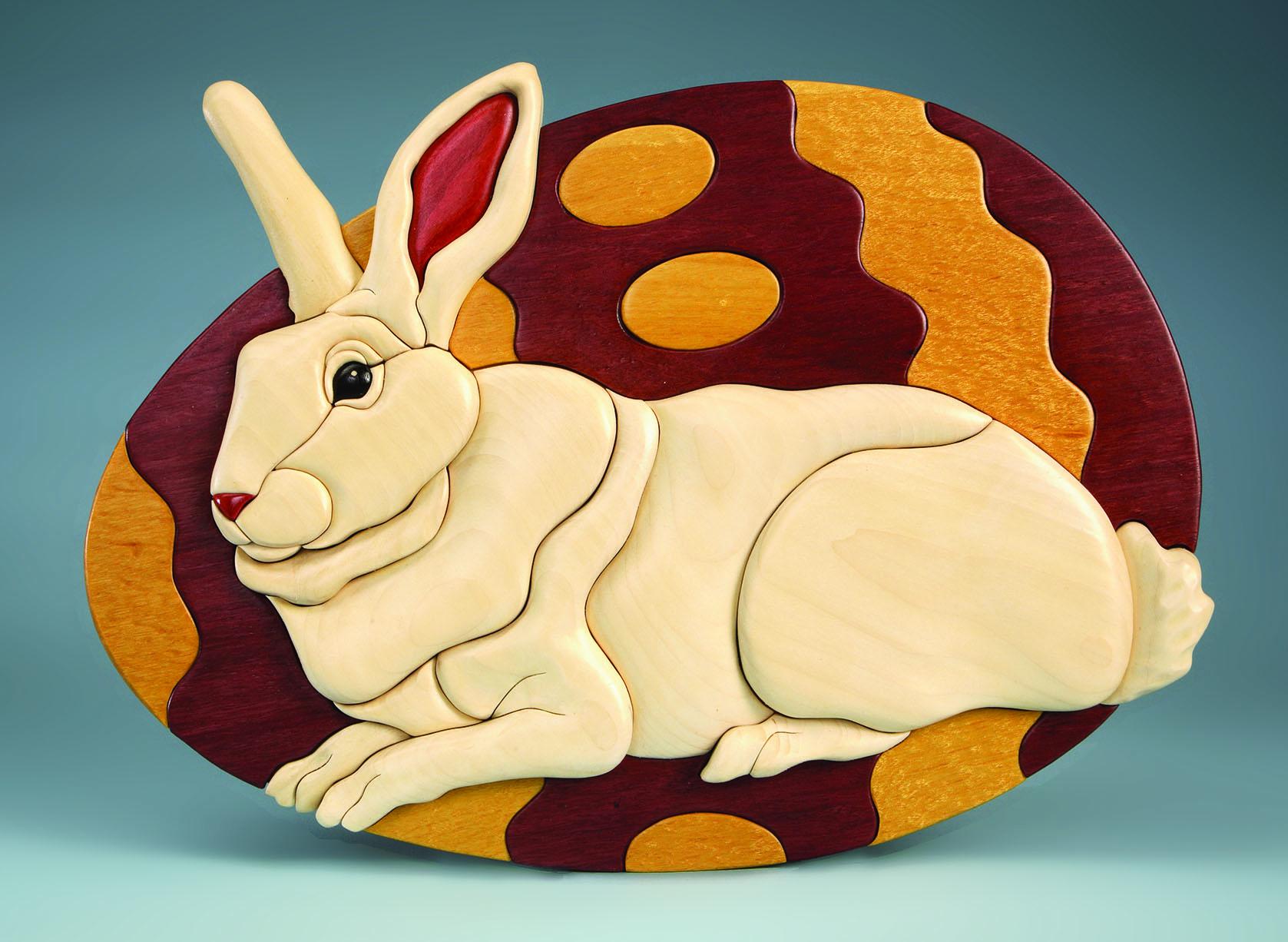 Easter Bunny Intarsia