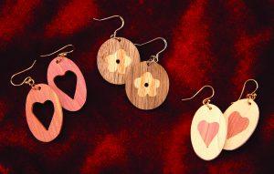 Inlay Earrings