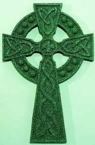 Textured and Overlaid Celtic Cross
