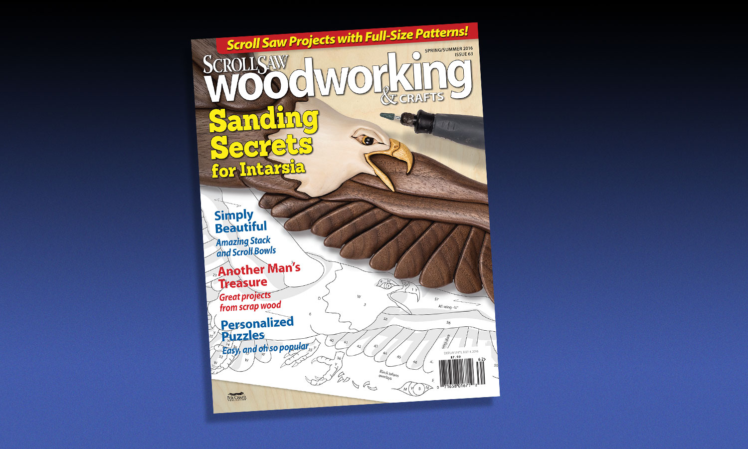 Scroll Saw Woodworking & Crafts Spring  / Summer 2016: Issue 63