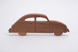 Freestanding VW Beetle Puzzle
