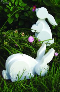 Layered Garden Bunnies