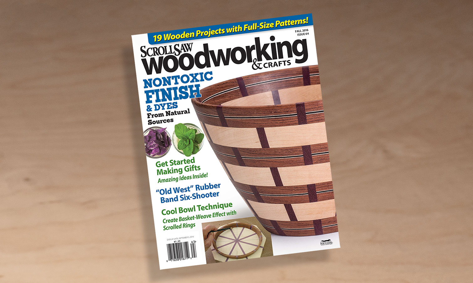 Scroll Saw Woodworking & Crafts Fall 2016: Issue 64