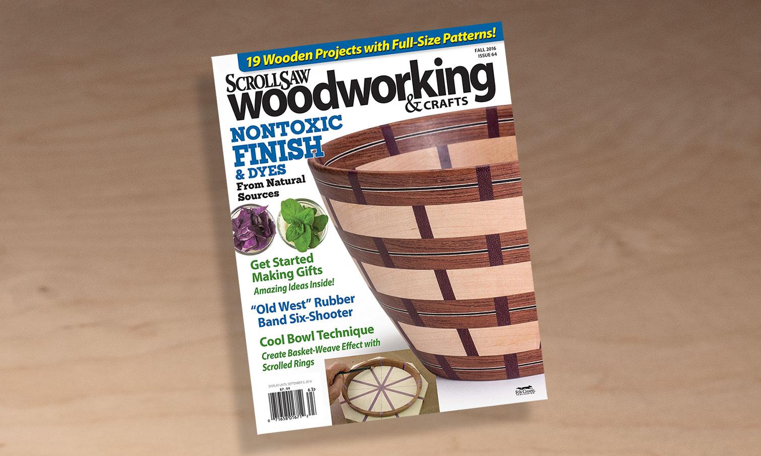 Scroll Saw Woodworking Crafts Fall 2016 Issue 64 Scroll Saw