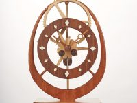 Electromagnetic Gear Clock