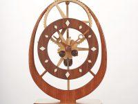 Electromagnetic Gear Clock