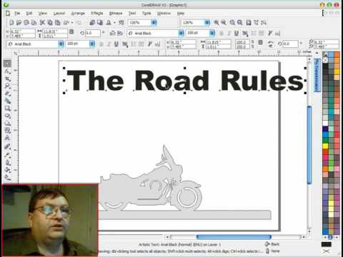 Creating a Motorcycle Pattern